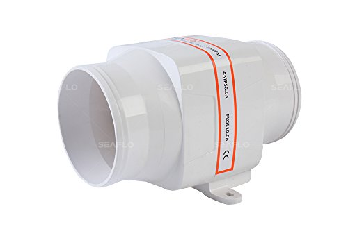Seaflo 102mm Inline Gebläse Fan