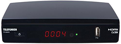 Telefunken TF-C9210 Full HD Kabel Receiver (DVB-C, HDTV, Media Player, EPG, HDMI, USB)