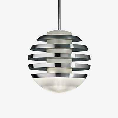 Tecnolumen Bulo Pendelleuchte LED, schwarz
