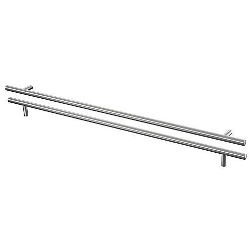 IKEA LANSA -Griff aus Edelstahl / 2 Stück - 645 mm