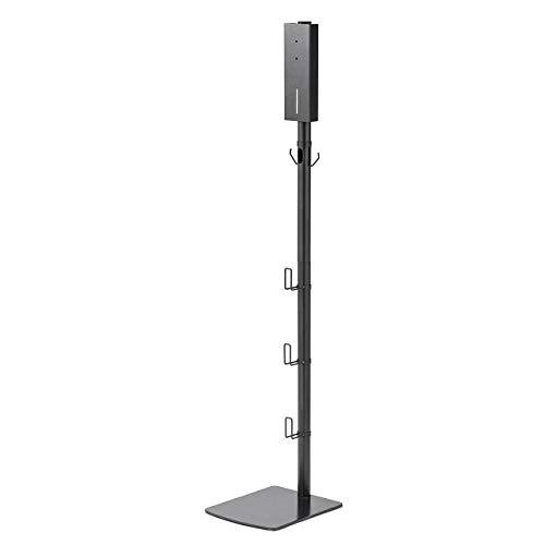 サンワダイレクト ダイソンスタンド Digital Slim SV18/V11/V10/V8/V7対応 付属ツール収納 スチール ダークグレー 200-STAND3DS