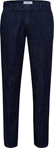 BRAX Herren Style Everest Denim Chino Straight Jeans, Dark Blue, W36/L34 (Herstellergröße: 52)