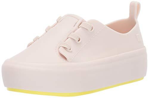 Mini Melissa Meisjes Mini ULITSA Sneaker, BEG Geel, 6 Medium US Peuter