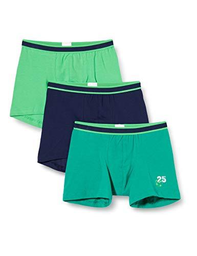 Schiesser Jungen 3pack Hip Shorts Boxershorts, Mehrfarbig (Sortiert 2), 98 (3er Pack)