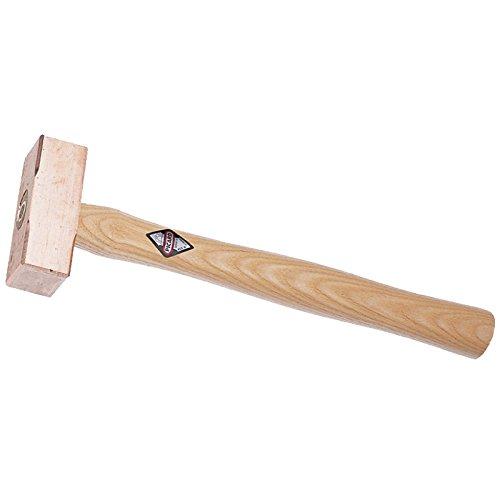 Picard 0033001-0250 Kupferhammer Fäustelform 250g mit Eschenstiel