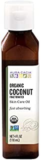 Aura Cacia Certified Organic Fractionated Coconut Oil | 4 fl. oz.