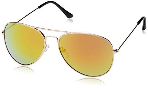 JACK & JONES Jjcolour Sunglasses Occhiali da sole, Giallo (Gold Colour /J1095-01 Detail:J1095-01), unica Uomo