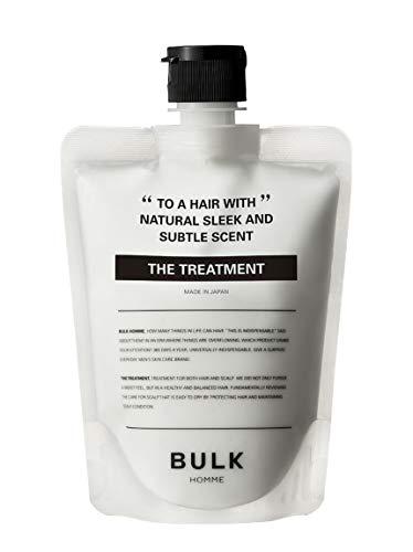 バルクオム トリートメント 180g ( メンズ ヘアケア 男性 高保湿 髪 頭皮 洗い流す インバス サロン 美容室 フケ かゆみ) BULKHOMME THE TREATMENT