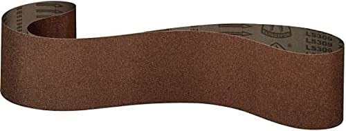 Klingspor LS 309 X - Bandas de lija de tejido (150 x 2515 mm, 10 unidades, grano/grano: 150 (10 cintas)