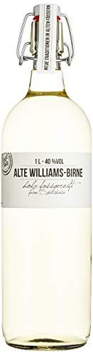 BIRKENHOF Brennerei | Alte Williams Birne  - feine holzfassgereifte Spirituose  | (1 x 1l ) - 40 % vol.