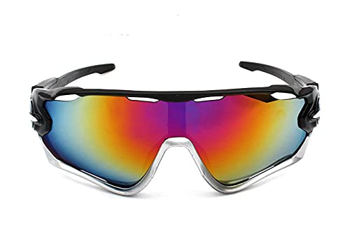 WQZYY&ASDCD Gafas de Sol Gafas De Ciclismo para Montar Gafas De Carretera Gafas Deportivas De Montaña MTB Al Aire Libre Gafas DeSol para Hombre Gafas De Bicicleta GafasGafas De Sol-2_