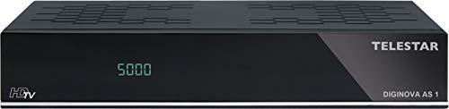 TELESTAR DIGINOVA AS 1 HD Sat Receiver Irdeto ORF (DVB-S2, Full HD, PVR ready, HDMI, Scart, Irdeto, ORF, für Österreich) schwarz