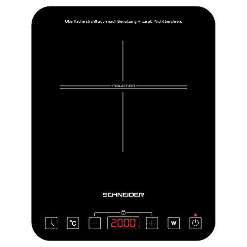 Schneider Autark SIN1FS - Placa de inducción (vitrocerá