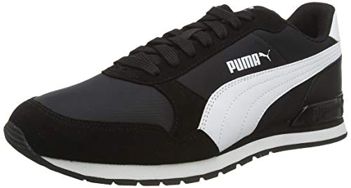 PUMA St Runner V2 NL, Zapatillas Unisex Adulto, Negro Black White, 45 EU