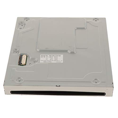 kesoto Lecteur de Disque DVD Drive DVD-ROM Pièce de Rechange Réparation pour Console de Jeu Vidéo Nintendo Wii U