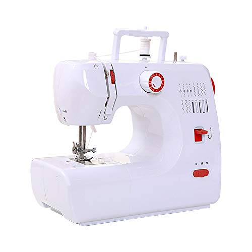 Buy QIYUE Sewing Machine, 16 Built-in Stitch Patterns, Double Thread, 2 Speeds, with Accessories Min...