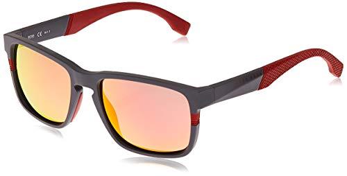 Hugo Boss heren BOSS 0916/S 7H 1XA 57 zonnebril, rood (Rosso)