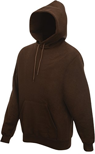 Fruit of the Loom Hooded Sweat Chocolate - XL