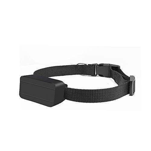 KKmoon Mini Localizador GPS para Perros Gatos, Rastreadores de Mascotas Impermeable Portátil GPS Tracker de Collar de Mascotas,Herramienta de Posicionamiento de Mascotas Antirrobo