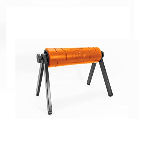 HighRoller The World's Most Efficient Ergonomic Foam Roller, Rolling Muscle and Fascia Care with Patented Elevation Orange
