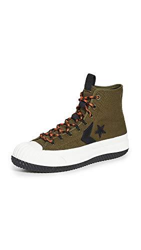 Converse Herren Bosey MC Wasserabweisende Sneaker Stiefel, Gr�n (Surplus Olive/Lagerfeuer orange), 46 EU