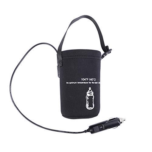 GHDAG Portátil Rápido Bebé Alimentación Botella Calentador de Viaje al aire libre Taza Calentador 12V DC Coche Bebé Botella Calentador