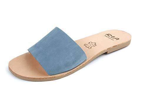 ria menorca Sandalen Nubuck Jeans crepelina Corazones Caramelo (40 EU)