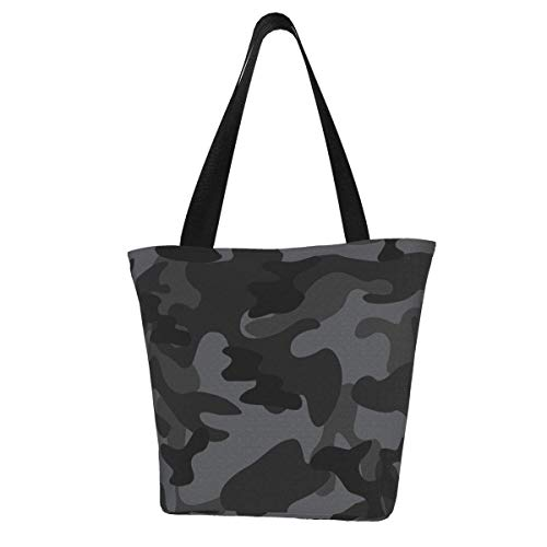 Camouflage Abstract Camo Women's Large Capacity Tote Shoulder Work Bag Handbags Satchel Purse
