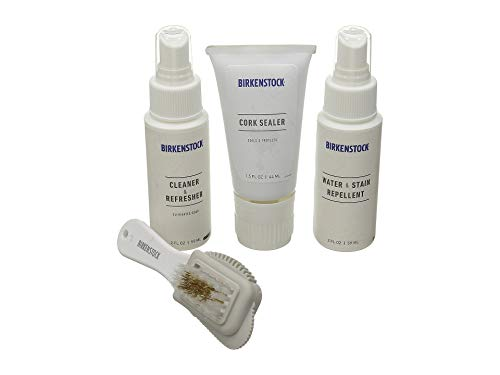 Birkenstock Womens Shoes Deluxe Shoe Care Kit, White, 53 EU/One Size M US