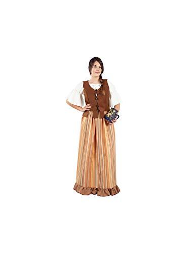 DISBACANAL Disfraz de mesonera Medieval Mujer - -, L