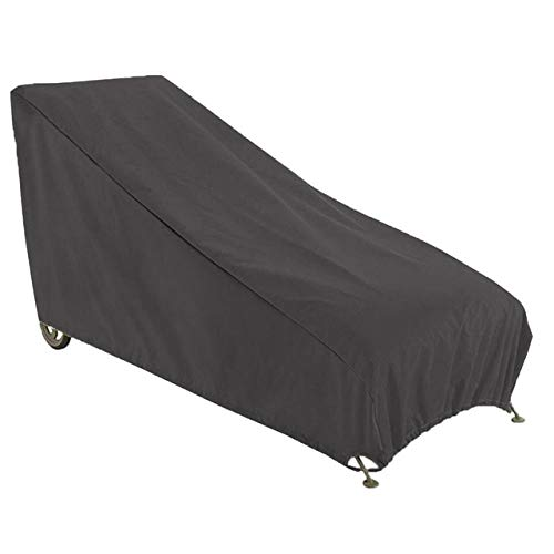 XiaoOu Patio Furniture Cover Oxford Cloth Furniture Dustproof Cover for Rattan Table Cube Chair Sofa Waterproof Rain Garden Outdoor Patio Protective Case,Black