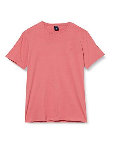 Springfield 5Ba Básica Logo Tree-C/71 Camiseta, Rosa (Pink 71), Small (Tamaño del Fabricante: S) para Hombre
