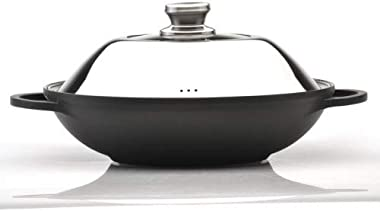 """EuroCAST by BergHOFF 12.25"""" Chinese Covered Wok 