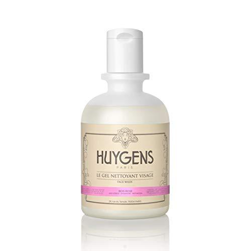 Gel Limpiador Facial Regenerador de Palo de Rosa HUYGENS - Con Aceite Esencial de Palo de Rosa - Origen Natural y Ecológico - Hecho en Francia - 250mL