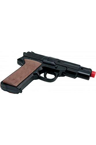 P\' Tit Clown–78880–Pistola a Petardi–Disco 8Colpi–16,5cm–Taglia Unica–Metallo