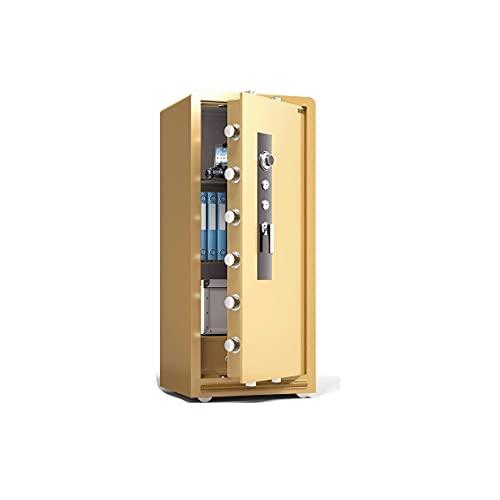 XYJHQEYJ Cajas de Bloqueo de Seguridad mecánica, Cajas de Seguridad Cajas de gabinete Cajas de Dinero, Oficina Hotel Business Jewelry Cash Use Storage, 47.2 × 21.6 × 19.6 Pulgadas