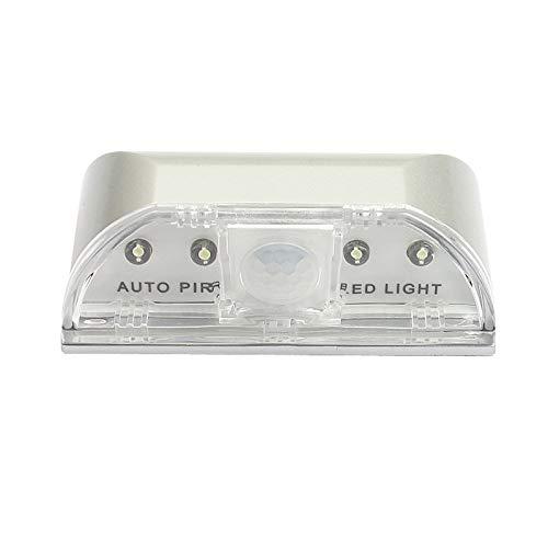 Noche Infantil PIR Wireless Auto Infrarrojo IR Sensor Detector de movimiento LED Lámpara Luz Luces Noche Luz Movimiento Luz Sensor de Luz Ambient Para Armario, Cocina, Pasillo, Gabinete Garaje Armario