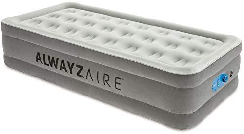 Bestway AlwayzAire Einzelbett Luftbett selbstaufblasend mit eingebauter elektrischer Pumpe, 191x97x46 cm