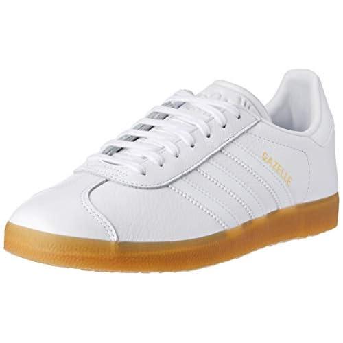 adidas Gazelle, Scarpe da Ginnastica Basse Uomo, Bianco (White Bd7479), 42 EU