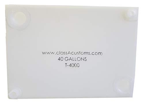 Class A Customs | T-4000 | One (1) RV Fresh Water 40 Gallon Tank, Grey Water