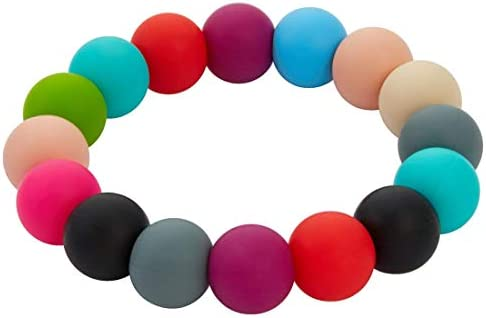 Nearbyme Sensory Chewable Bracelet Oral Motor Aids Teether Bracelet for Baby Kids Boys and Girls product image