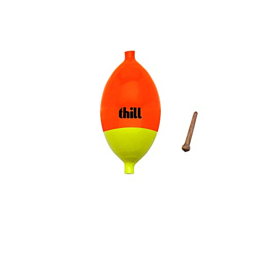 Thill Gold Medal Ice 'N Fly Special Float - Red/Yellow - 1 1/2 in