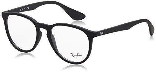 Ray-Ban Damen 0rx 7046 5364 51 Brillengestell, Schwarz (Rubber Black)