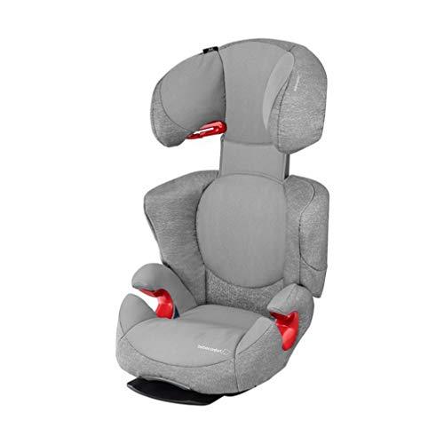 Bébé Confort Rodi AirProtect, Siège-Auto Groupe 2/3 (15 à 36 kg), Avec Système De Protections Latérales, de 3,5 à 12 ans, Nomad Grey
