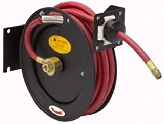 Central Pneumatic 25 Ft. Heavy Duty Retractable Air Hose Reel with 3/8 Hose by Central Pneumatic