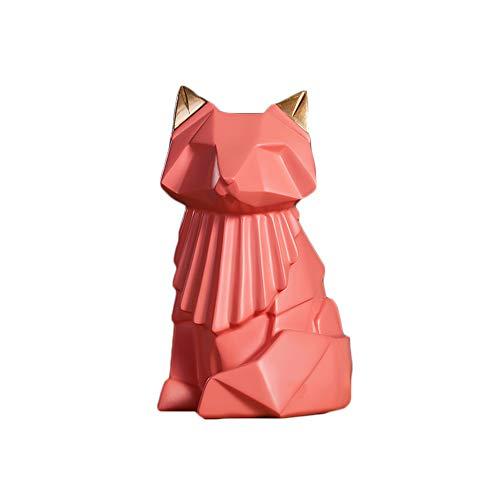 Colias - Hucha con forma de zorro, diseño elegante, para ahorrar dinero