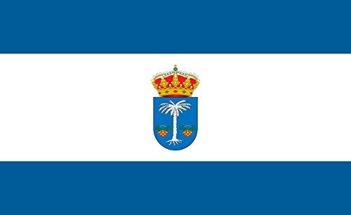 magFlags Bandera Large Rociana del Condado Spain | Rociana del Condado Huelva | Bandera Paisaje | 1.35m² | 90x150cm