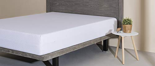 Velfont - Funda de colchón Niza 135, Blanco