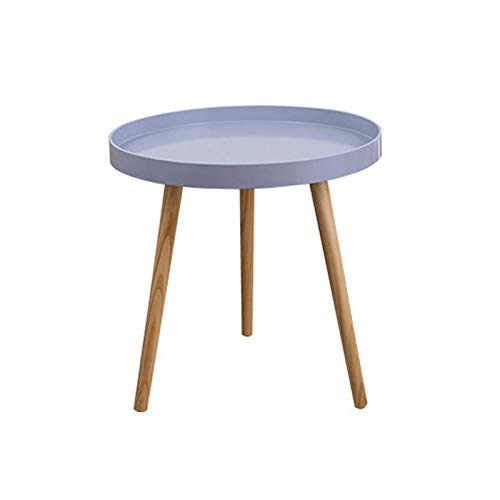 Yangxuelian Coffee Tables Round Side Table Tray Small End Table Coffee Tea Table Indoor Outdoor Storage Table For Home Office For Living Room, Study Room Or Bedside