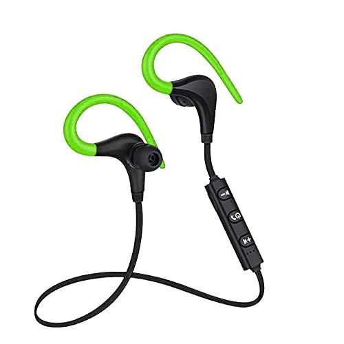 Lalaluka Kabelloser Bluetooth Kopfhörer,Ohrhörer Joggen/Laufen Schweißresistente In Ear Behind-the-neck Sport Kopfhörer Wasserdicht mit Mikrofon,kabellose Sport-Earbuds